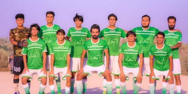 الاتحاد يخطف كأس بطولة ام روايه لكرة القدم