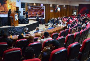 جامعة البصرة تنظم مهرجانها التأبيني الاول لسيد الشهداء عليه السلام