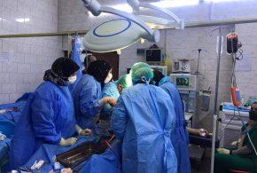 """""""عملية قيصرية"""" في مُستشفى النسائية والتوليد التعليمي بكربلاء تنقذ حياة مريضة ثلاثينية تعاني من إختراق المشيمة"""