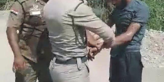 شرطة كربلاء تنقذ احد الزائرين من الموت